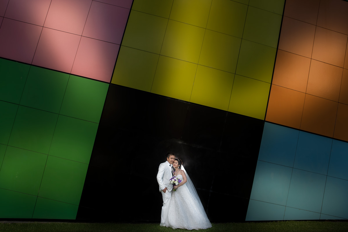 The Wedding Colorama