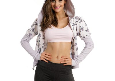 Sports Hoody For Girls
