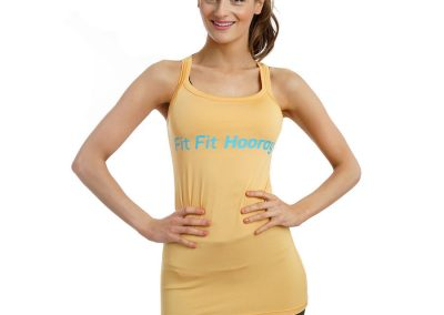 Yoga Top Yellow
