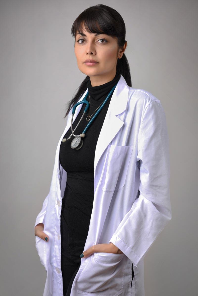 Doctor Profile Portrait