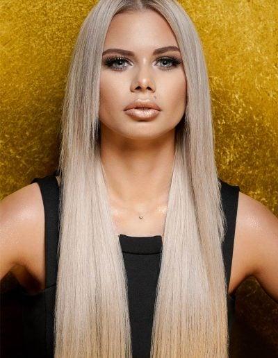 Golden Beauty Photoshoot