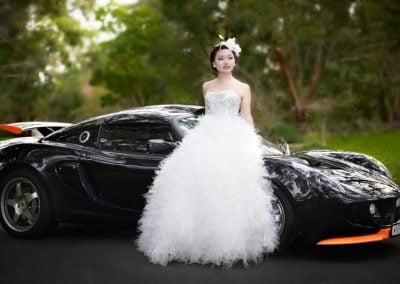 Bridal with her Private Limo