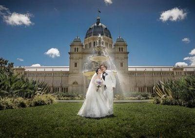 Artistic Wedding Portrait in Melbourne